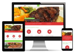 Restaurant Homepage erstellt