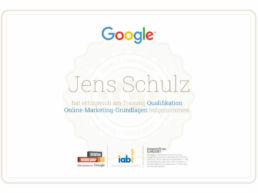 Google Online Marketing Zertifikat