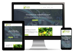 Gartenpflege Homepage erstellen lassen