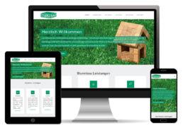 Homepage Webdesign Bauunternehmen Handwerk