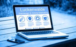 Homepage erstellen lassen Luckenwalde
