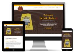 Homepage erstellen erstellen Ladengeschäft
