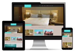 Hotel Homepage Webdesign