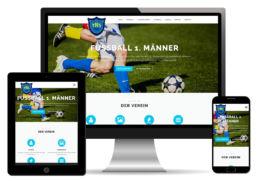Vereins Homepage Webdesign