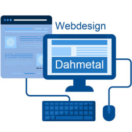 Webdesign Dahmetal