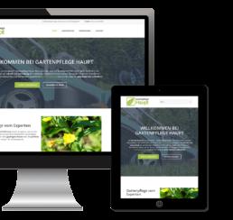 Webdesign Gartenpflege erstellen lassen